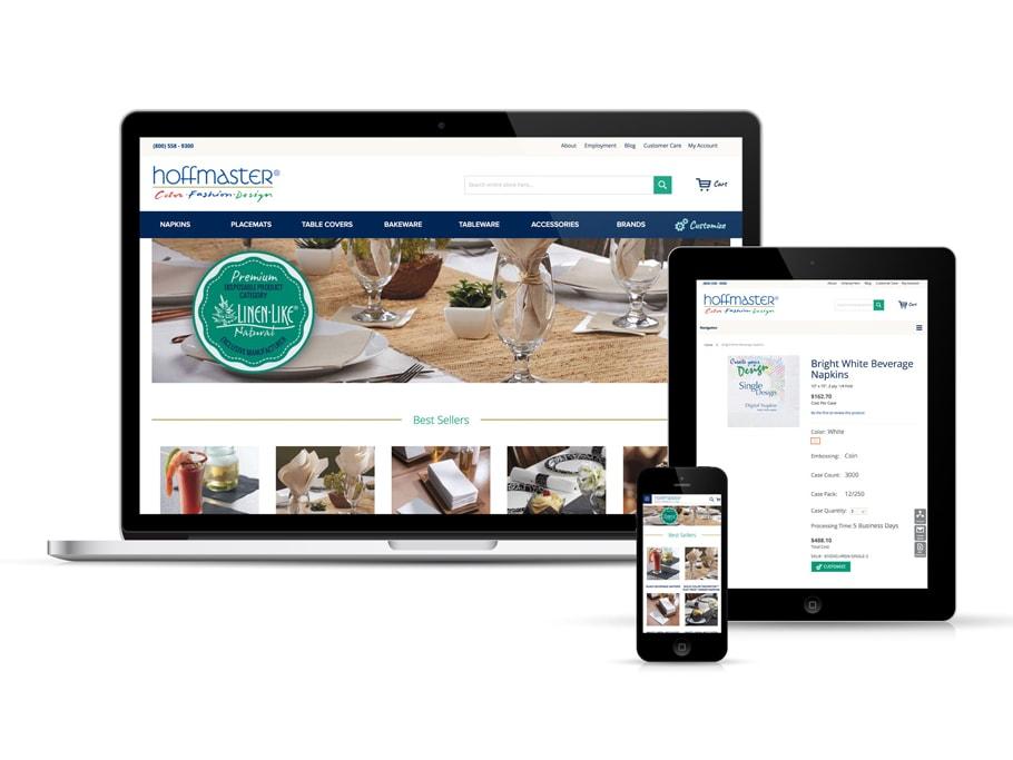 Blue Door Consulting Communicator Award Hoffmaster® Website