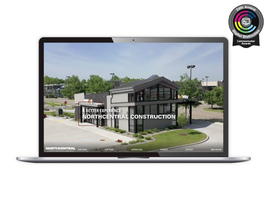 Northcentral Construction homepage